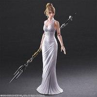 Lunafrena Nox Fleuret 26cm Play Arts Kai Final Fantasy Xv Anime Action Toy Figures Pvc Model Collection For Children Gift