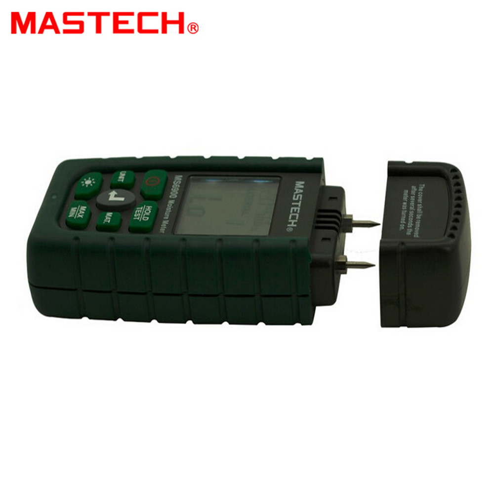 MASTECH MS6900 Portable Digital Timber Wood Moisture Meter LCD Hygrometer Temperature Humidity Meter Tester md816 mini digital 1 3 lcd moisture meter orange