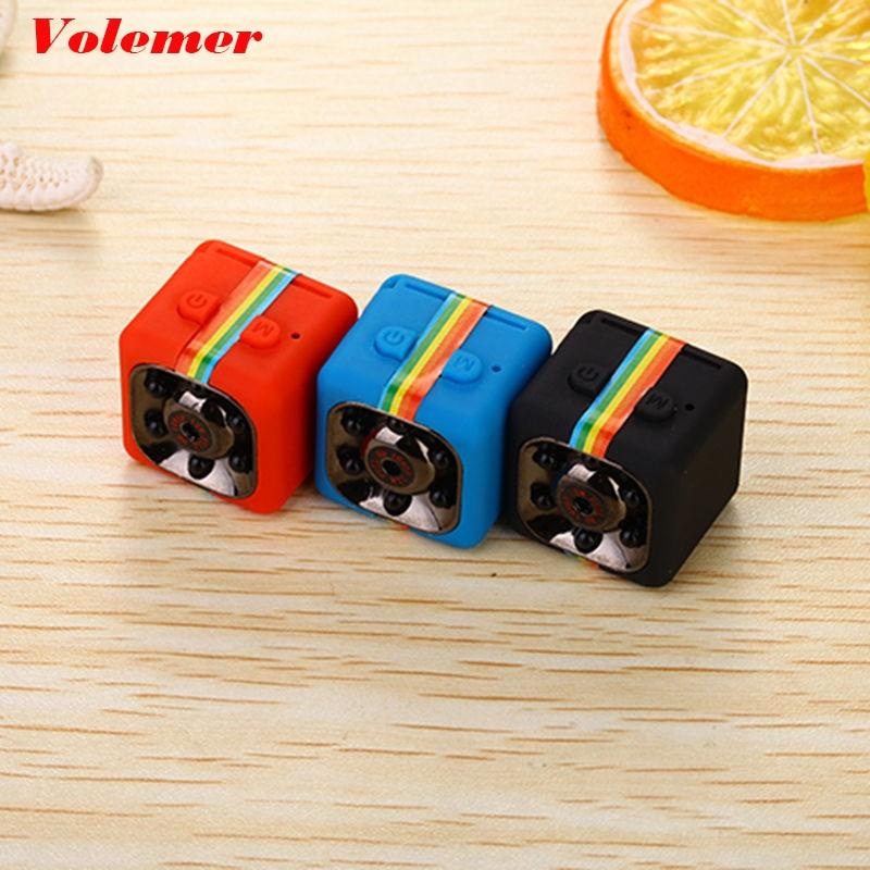 Volemer SQ11 Mini Kamera Camcorder HD 1080 P Geheimnis Kamera Nachtsicht Bewegungserkennung Camara Sport DV Stimme Video Recorder