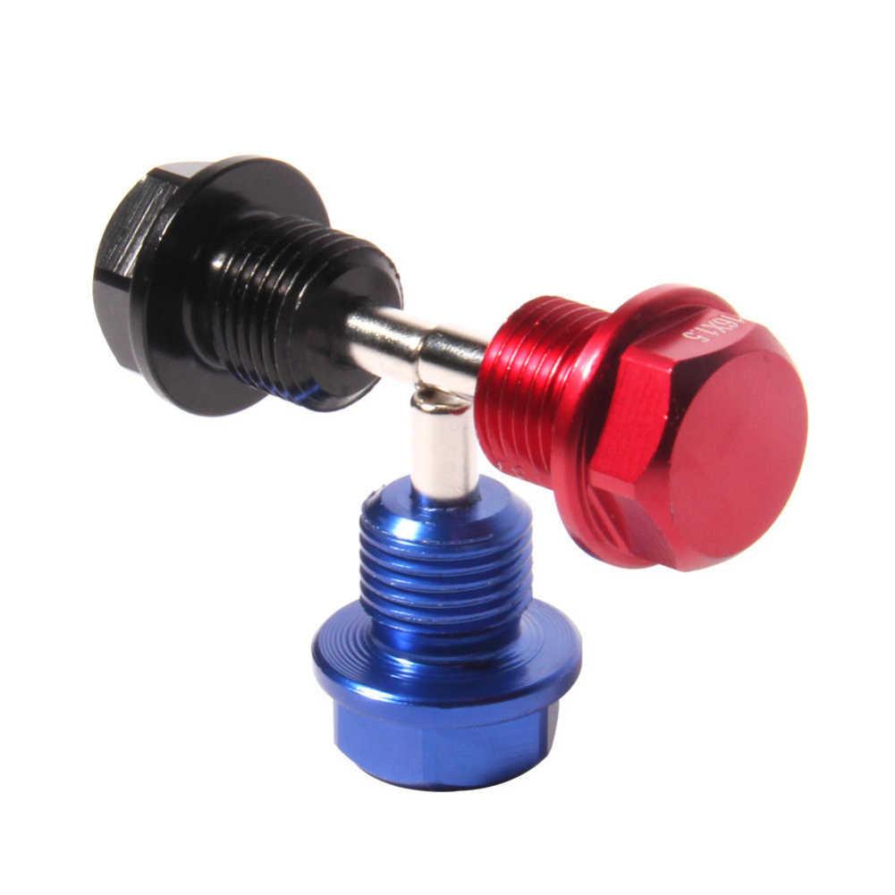 M14 * 1,5 magnético de sumidero de aceite tuerca drenar el aceite de macho tornillo de drenaje de aceite tapón de aceite tuerca de pernos para Honda
