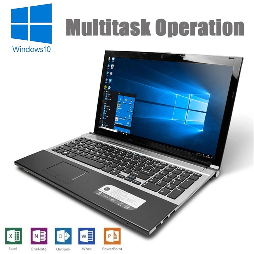 Intel Core i7-3517U 15.6 Polegada 8GB RAM 512G SSD Built-in Drive Óptico Laptop 1920x1080 P 10 Janelas Notebook Ultrabook