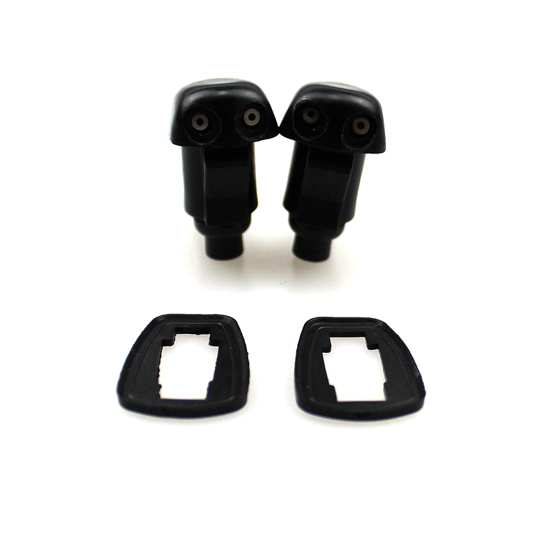 LARBLL 2 PCS NewWindshield Wiper Washer Bocal jet para Dodge Nitro 07-11 Jeep Liberty 05-10 Jeep Commander 2006-2010 55157319AA