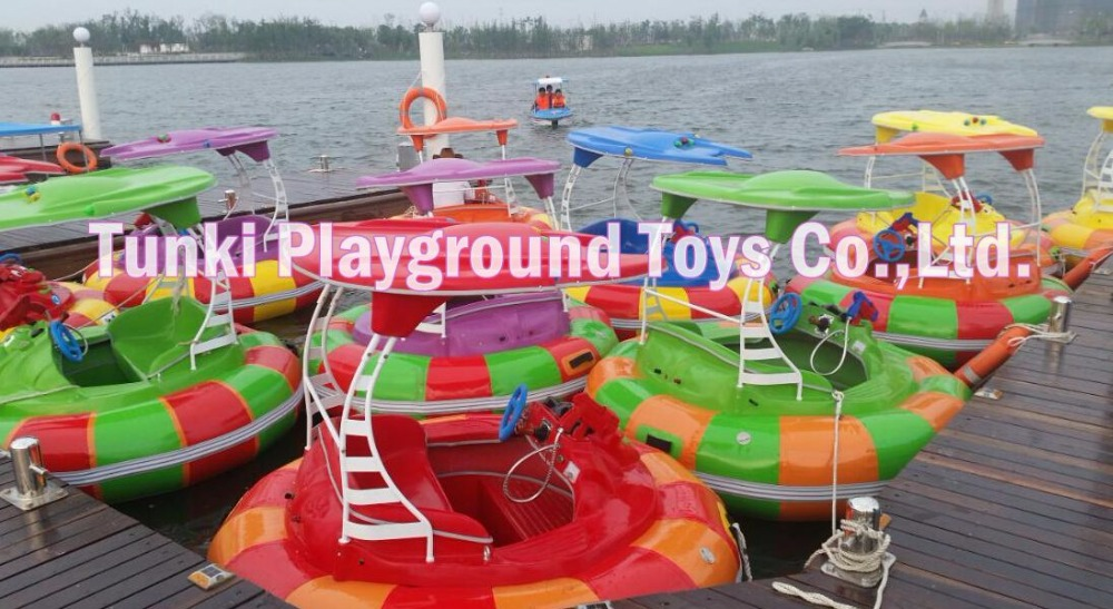 Yellow Color Inflatable Pool with Blue Ground Sheet, Giant Water Pool Inflatables, Inflatable Pool for Bumper Boats