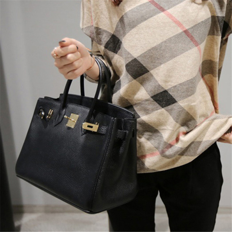Fashion Genuine Leather Women Handbag Luxury Brand Ladies Shoulder Bag Female Casual Tote Crossbody Bag Girl Gift Bolsa Feminina 2018 new style genuine leather woman handbag vintage metal ring cloe shoulder bag ladies casual tote fashion chain crossbody bag