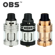Original OBS Engine RTA Tank 5 2ml Side Filling Temperature Control Engine Rebuildable Atomizer Engine rta