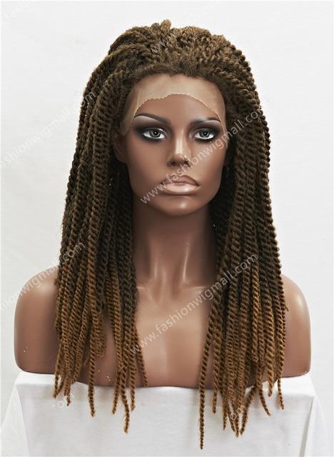 24 \' Celebrity synthétique Lace Front perruque