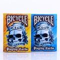 1PCS BICYCLE Poker Club Tattoo V2 Playing Card  (Blue Or Orange Colors) Magic Deck Props Magic Trikcs Props 81269