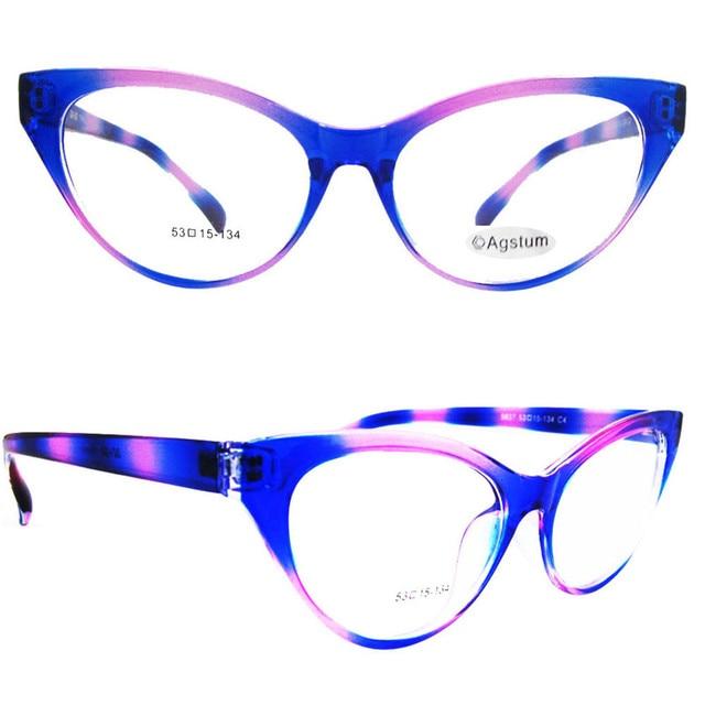0fad229c88 Agstum Ladies Women TR90 Cat Eye Design Full Rim Clear Lens Eyeglass Frame  Eyewear Spectacles Fashion Glasses Prescription