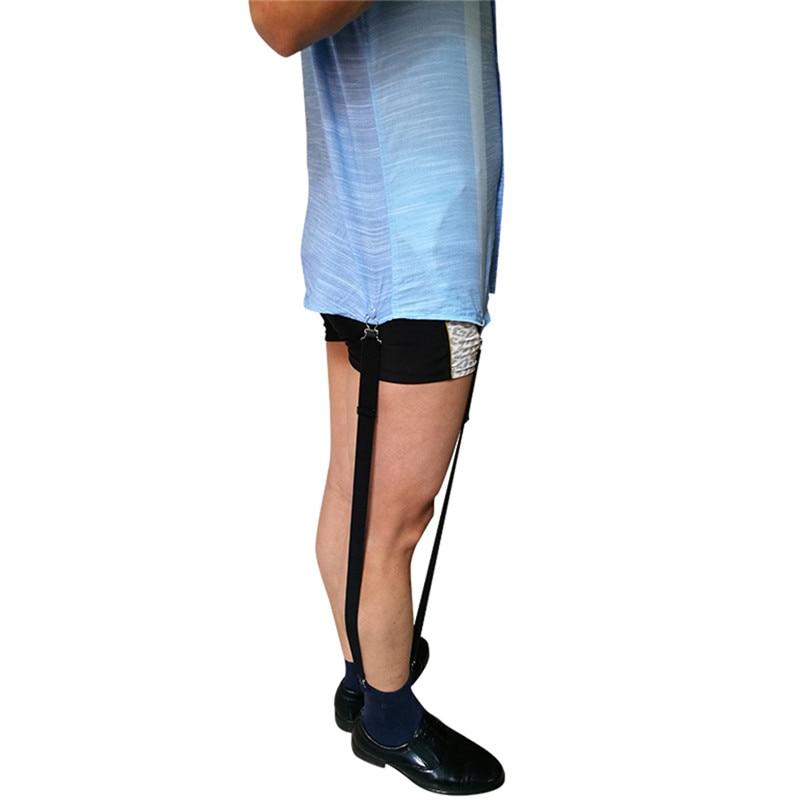 1Pair Gentleman Leg Elastic Men Shirt Suspenders Garter Holder Business Men Shirt Stays Garters Suspenders Braces For Shirts