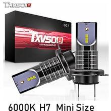 TXVSO8 2 шт H7 светодиодный автомобилей лампочки CSP Chips-30000LM 6000 K bombilla светодиодный туман фары лампы 55 W Auto ампулы 12 V передние фары