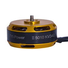 лучшая цена Brushless Outrunner Motor 5010 II KV340 for Agriculture Drone Multi-copter 1/4pcs
