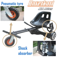 New Hoverkart with Shock absorber and 6″ Pneumatic tyre for 6.5, 8, 10 inch hoverboard accessories scooter Go-Karting for adults