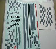 Decal / Sticker for Taft Hobby Viper 90mm Jet