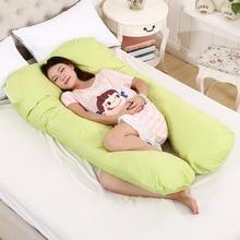 130*70CM Sleeping Pillow for Pregnant Women Pregnancy U Shape Pillows Baby Pregnant Women Nursing Pillow Waist Support Cushion