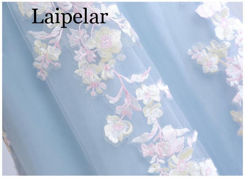 Laipelar 2019 robe à lacets longue chemise femmes élégantes automne printemps manches longues rayures Maxi robes - 6
