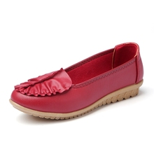 2016ร้อนใหม่รองเท้าไม่มีส้น,ผู้หญิงโลฟเฟอร์,ผู้หญิงแบน,หนังแท้วัวสุภาพสตรีรองเท้าสำหรับผู้หญิงรองเท้าลำลอง ,ผู้หญิงรองเท้า4-813