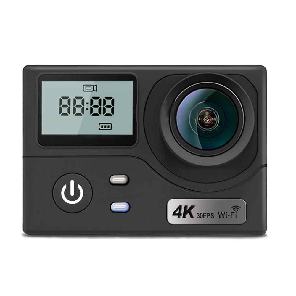 """Goldfox H9R Спортивная Экшн-камера Ultra HD 4 K WiFi 2,0 """"водонепроницаемая камера для записи видео шлема s Sport DV Cam с пультом дистанционного управления"""