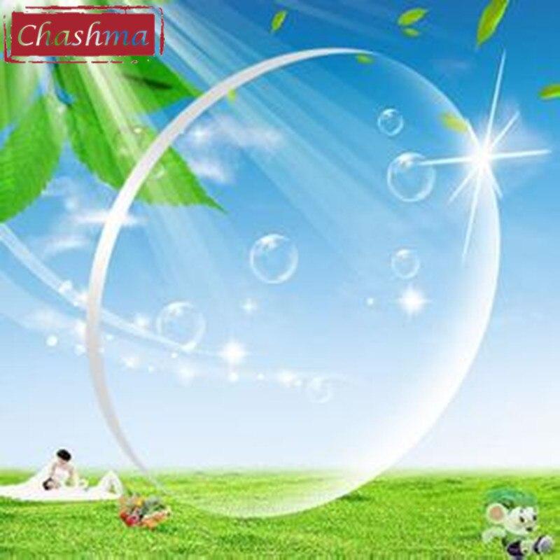 Chashma Ultra mince personnaliser anti-uv Anti-rayonnement asphérique 1.67 Index intérieur verres à Addition Progressive