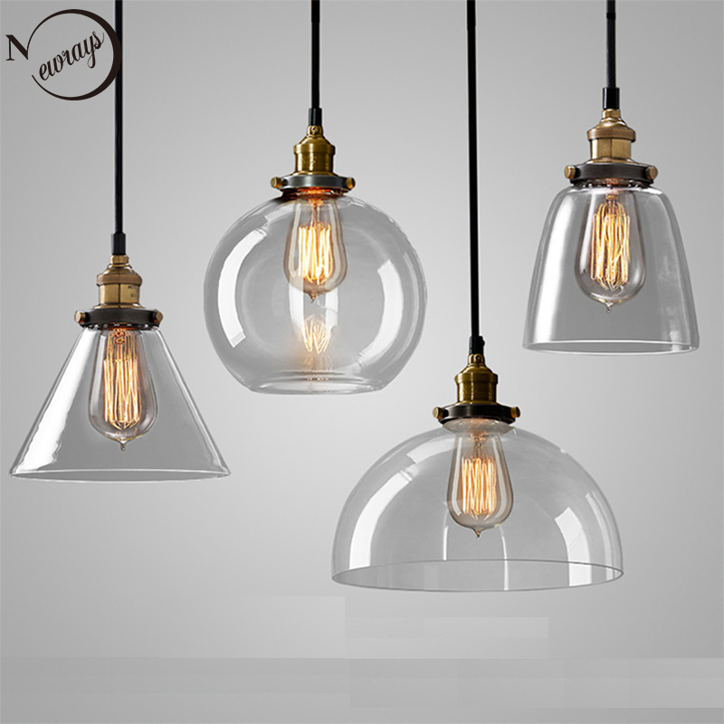 Industrial modern simple clear/amber color glass pendant light LED E27 with 4 styles for restaurant/living room/cafe/bedroom/bar пила циркулярная dewalt dewalt dwe561 185mm