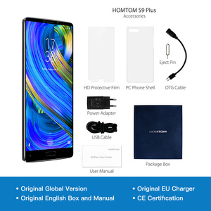 "Image 5 - HOMTOM S9 Plus 18:9 HD+ 5.99"" Tri bezelless Full Display Cell phone MTK6750T Octa Core 4G RAM 64G ROM Dual Back Cam Smartphone"