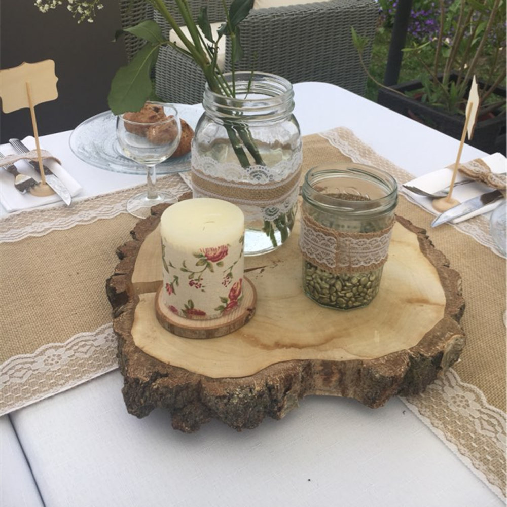 Natural Linen Burlap Jute Hemp Table Runner Vintage Wedding Party  Decoration Favors In Table Runners From Home U0026 Garden On Aliexpress.com |  Alibaba Group