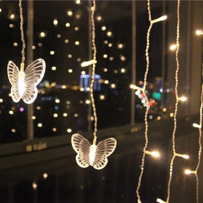 Luces de navidad nieuwjaar led decoraties kerst guirlande hartvorm ...
