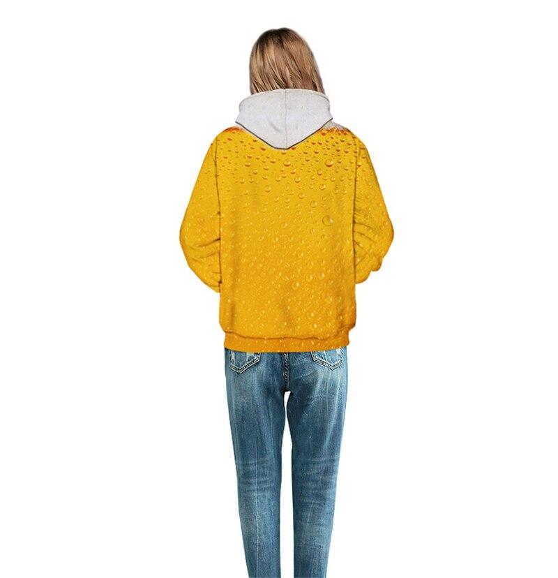 Harajuku Hoodies musim gugur kasual Pria Wanita Hoodies mode 3D cetak - Pakaian Wanita - Foto 6