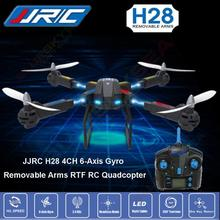 Free shipping!JJRC H28 2.4G 4CH 6-Axis Gyro Removable Arms RTF RC Quadcopter Drone Helicopters