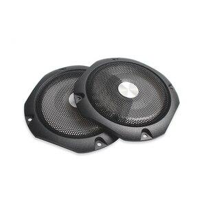 Image 2 - Housse de Protection pour haut parleur 4 pouces 8 pouces pour haut parleur, Grille de Tweeter, haut parleur en maille de fer, anneau décoratif