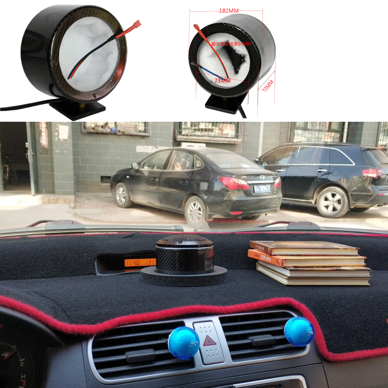 Free Shipping Car Mid-range Speakers Holder Tweeter Bracket Base Holders 73mm For All Mark 2PCS With Sound-absorbing Cotton