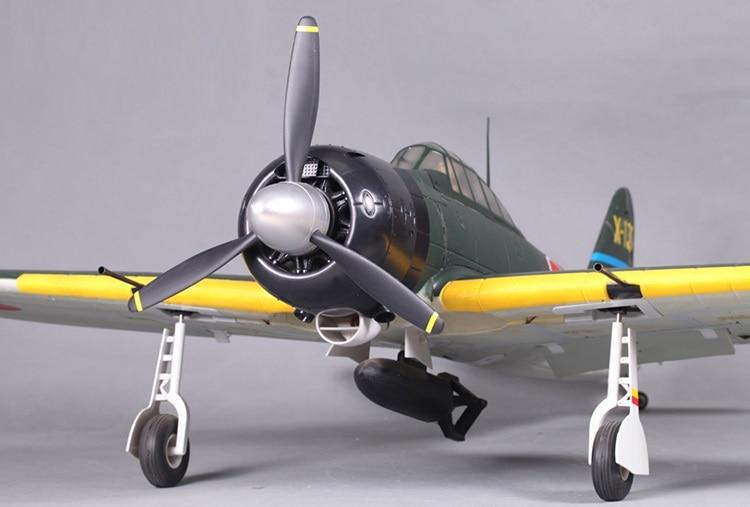 FMS Zero 1400 мм Электрический радиоуправляемый самолет модель PNP FMS033