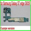 32 gb versão europa original desbloqueado para samsung galaxy s7 edge g935f motherboard com chip, s7 g935f mainboard, por frete grátis