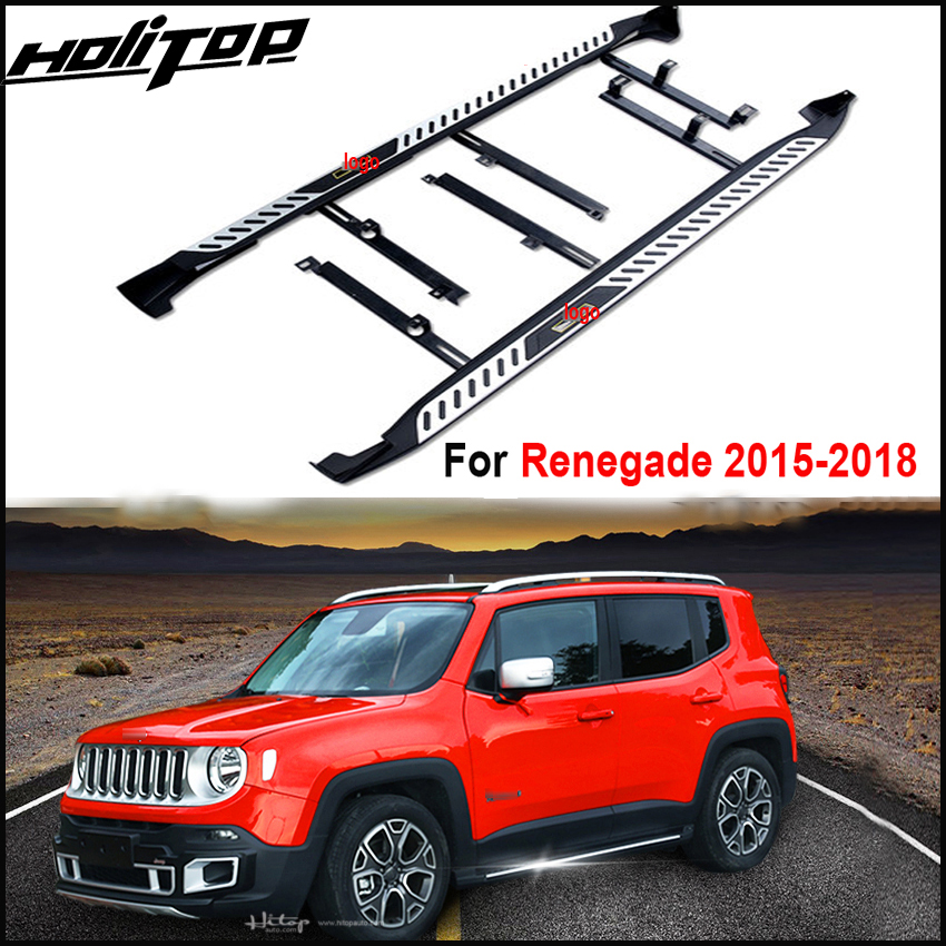 Responsible Sansour Car Rear C Pillar Window Glass Sports Plate Molding Trim Car Triangle Side Decorative Cover For Jeep Renegade 2015-2016 Automobiles & Motorcycles Chromium Styling