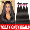 4 Bundles Brazilian Virgin Hair Straight Brazilian Hair Weave Bundles 10A Virgin Brazilian Straight Hair Weave Annabelle Hair
