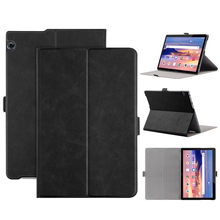 Leather case for Huawei Mediapad T5 10.1inch Smart Magnetic Leather Flip Case Stand Cover For Huawei Mediapad T5 10.1inch#g4(China)