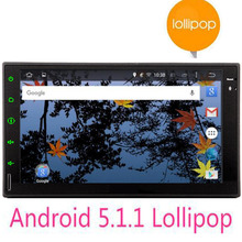 Quad Core Android 5 1 2din New Universal in dash font b Car b font Radio