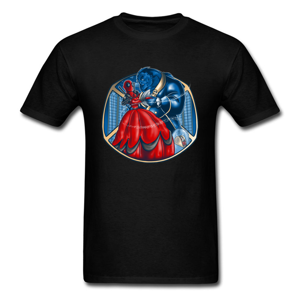 Deadpool Booty And The Beast Hunter T Shirts Titan Marvel Avengers T Shirt For Men Top Quality Fashion Clothing Shirts Dead Pool