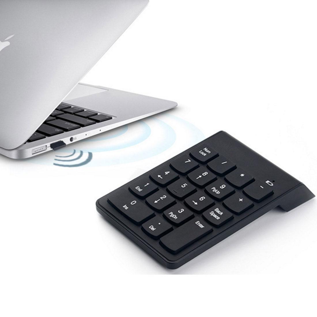 Notebook samsung com teclado numerico - De Alta Calidad Mini Teclado Num Rico De 18 Teclas Teclado Digital 2 4g Usb Teclado Num Rico