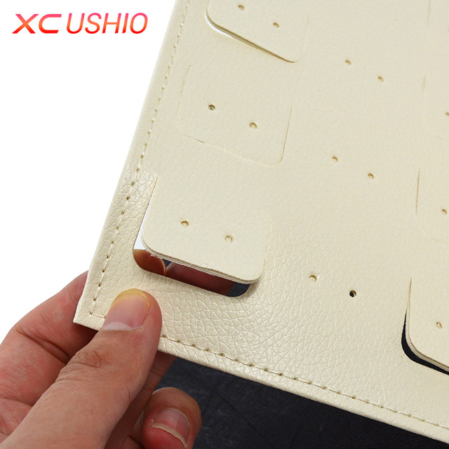 Fashion Women Stud Earrings Collection Book PU Leather Earring Storage Box Creative Jewelry Display Holder Jewellery Container & Online Shop Fashion Women Stud Earrings Collection Book PU Leather ...