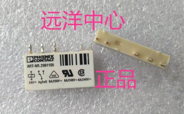 ART-NR.2961105  5 24VDC 6A 250VAC