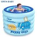 Bebé Piscina Inflable Para Niños Bañera de Hidromasaje portátil 100x75 cm Bebé Mini-parque Ecológico PVC Estanque