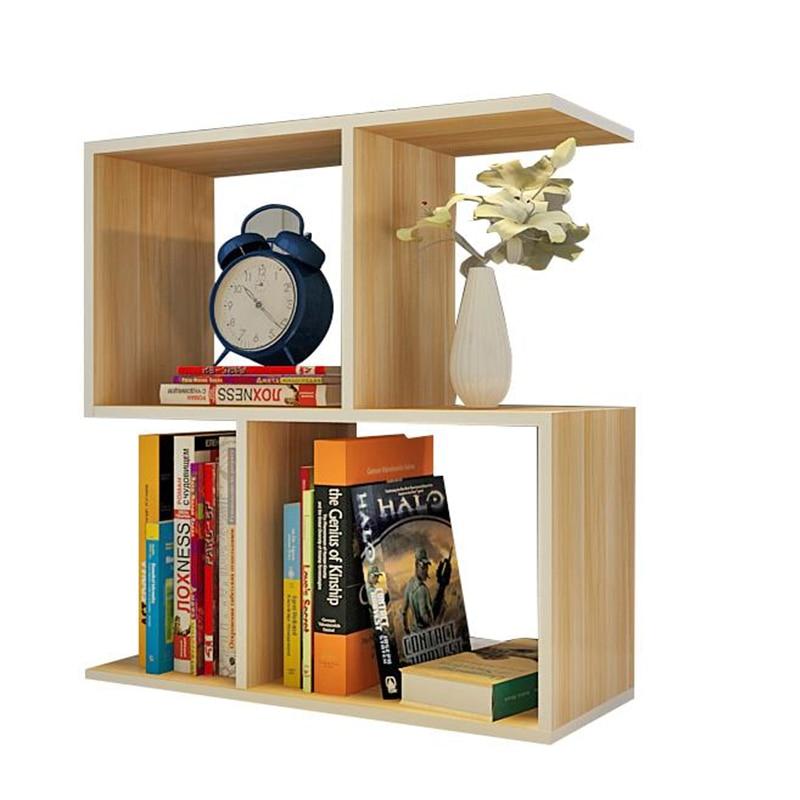 and modern creative lockers Simple student desk shelves bookcase children's desktop small bookshelf bookshelf racks simple creative desk small bookcase