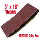 15 Pcs/Set Grit Sand...