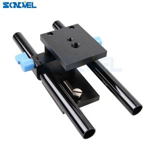 Image 4 - Sonovel คุณภาพสูง 15mm Rail Rod Support System Baseplate Mount สำหรับ Canon DSLR Follow Focus RIG 5D2 5D 5D3 7D