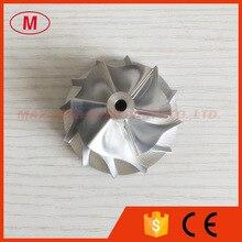 GT15 25 44.50/60.01mm 720915 0004/737692 0002 6+6 blades high performance billet/milling/aluminum 2618 compressor wheel for Q7
