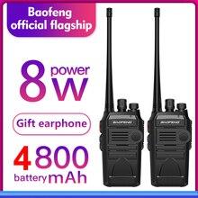 2 pçs/lote BAOFENG 999S plus UHF rádio Em Dois sentidos Walkie talkie 888s baofeng UHF 400 470MHz 16CH Transceptor Portátil com Fone de Ouvido