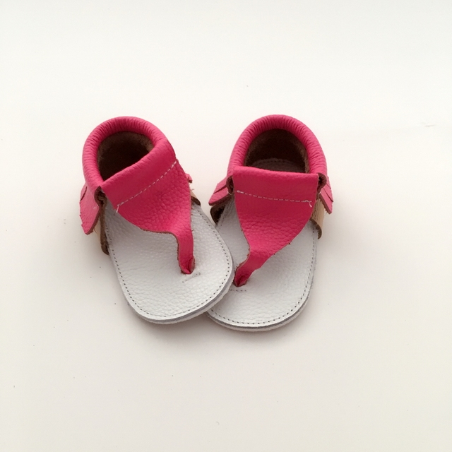 Ручной розовый и Белый Детские Впервые Ходунки Натуральная Кожа Детская обувь