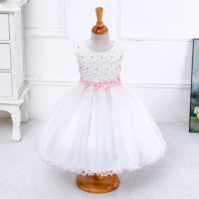Ladystreet Exklusive Neue Baby Mädchen Sleeveless Perlen Blume ...