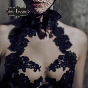 Image 5 - BOTHOYUNG 2019 nowy seksowny komplet bielizny dla kobiet koronki haftowane panie Bralette bielizna seksowny biustonosz push up zestaw