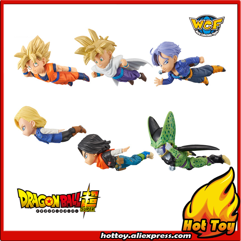 Original Banpresto World Collectable Figure / WCF The Historical Characters Vol.2 - Full Set of 6 Pieces from Dragon Ball Z original banpresto world collectable figure wcf the historical characters vol 3 full set of 6 pieces from dragon ball z